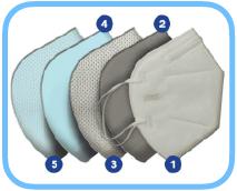 FFP2-Atemschutzmaske-Polypropylen-Vliesstoffe-Baumwolle