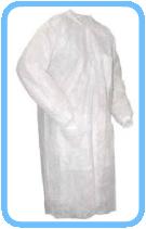 Klettverschluss-OP-Kittel-Chirurgenkittel-Vliesstoffe