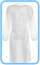 Laminat-OP-Kittel-Chirurgenkittel