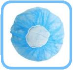Medizinische-Baretthauben-Vlieshaube-Haube-Vliesstoffe