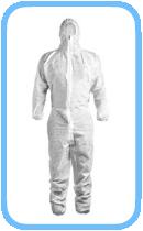 Schutzanzug-mit-Schutzkappe-Vliesstoffe